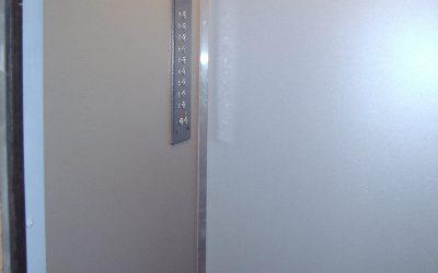 Реновация кабины. Стенки кабины лифта.